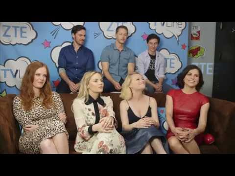 Once Upon A Time TV Line at Comic Con 2016- Jennifer Morrison, Lana Parrilla, Colin O'donoghue [HD]