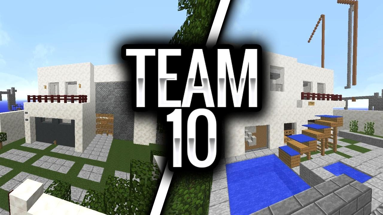How To Build Team  House In Minecraft