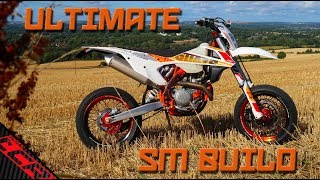 How To Build  A Supermoto | KTM 500 EXC to AWESOMENESS!!
