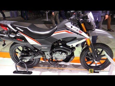 2018 Keeway TXM 125 - Walkaround - 2017 EICMA Milan Motorcycle Exhibition