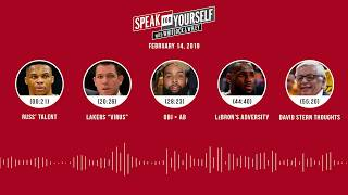 SPEAK FOR YOURSELF Audio Podcast (2.14.19) with Marcellus Wiley, Jason Whitlock | SPEAK FOR YOURSELF