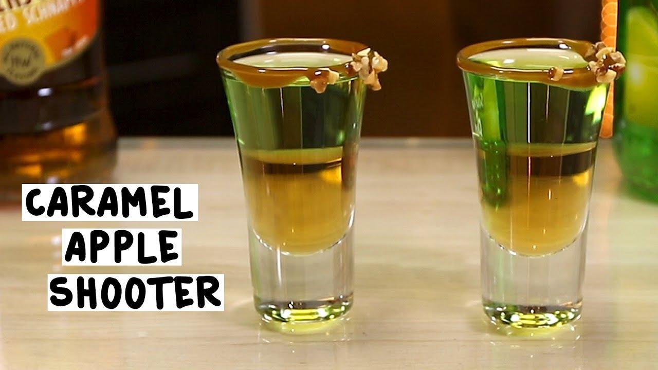 caramel apple shooter tipsy bartender