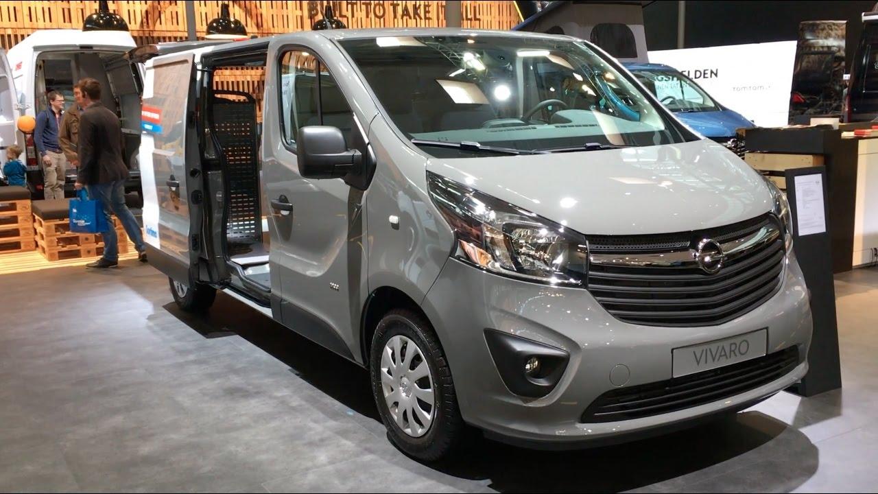 Opel Vivaro 2017 In detail review walkaround Interior Exterior - YouTube