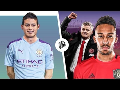 Оба Манчестера готовят Трансферные Бомбы? Обубе и Хамес сменят команды! / Трансферы 2020