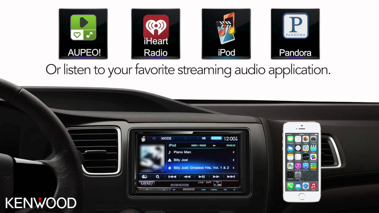 Kenwood Advanced Smartphone Control - iPhone