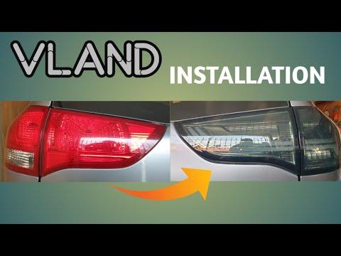 VLand Tail Light Installation