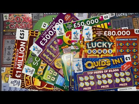Scratchcards From The National Lottery © (182) From A FAN!! Continued...