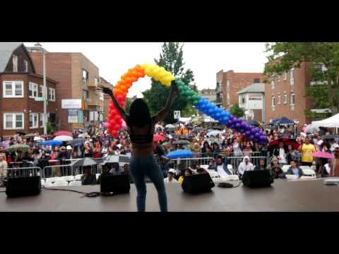 JAYEL PERFORMANCE AT QUEENS PRIDE FESTIVIAL 2017