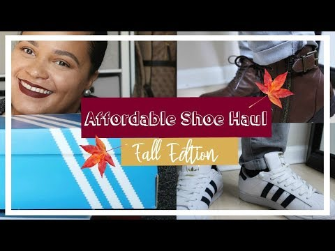 Fall shoe haul 2018| Comfy and Casual | Ross, Marshalls, and Famous Footwear