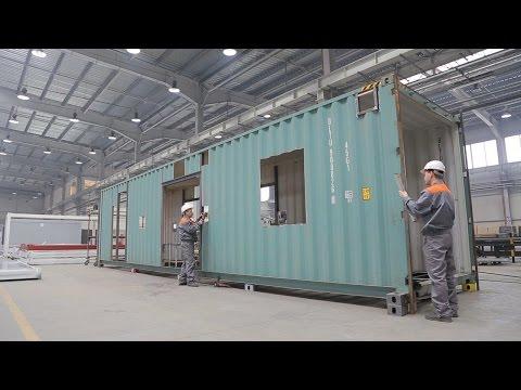 Modulaire maison, Construction modulaire, Maison container maritime