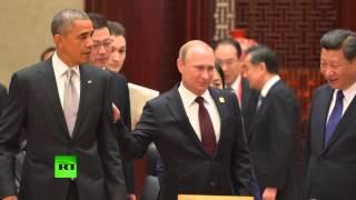 Путин красавчик   Обама облажался  Смотреть всем! Новости 2015