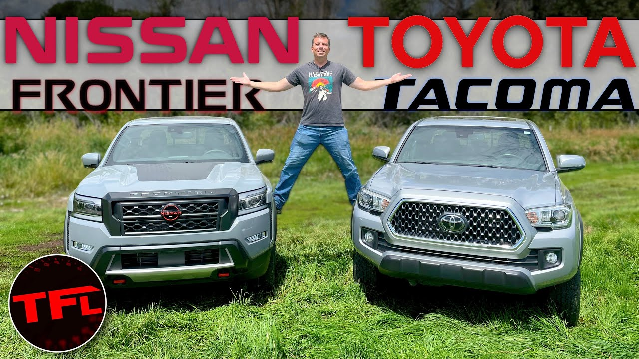 2022 Nissan Frontier vs Toyota Tacoma - One of These Trucks Has a New Clever Feature You'll Want!