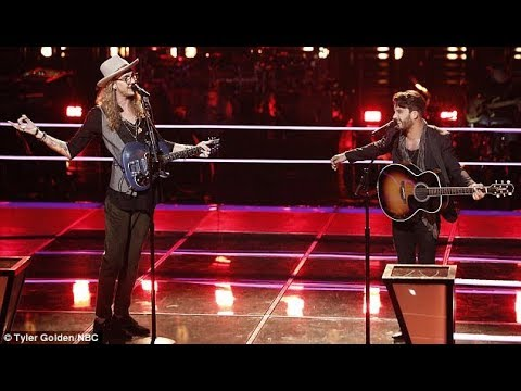 Adam Levine moves in and steals tall singer Dennis Drummond from show nemesis Blake Shelton