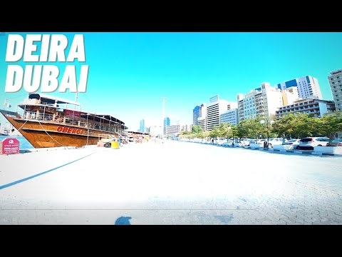Deira Dubai/Dubai Creek Morning Virtual Street Walking Tour (September 8, 2020)