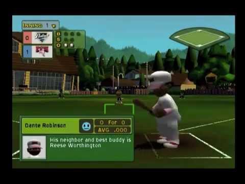 Live Commentary - Backyard Baseball 2007 Season episode 1 ...