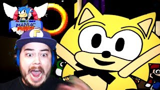 ORIGIN SONIC WANTS TO BITE ME?! | Five Nights at Sonic's: Maniac Mania (Part 5)