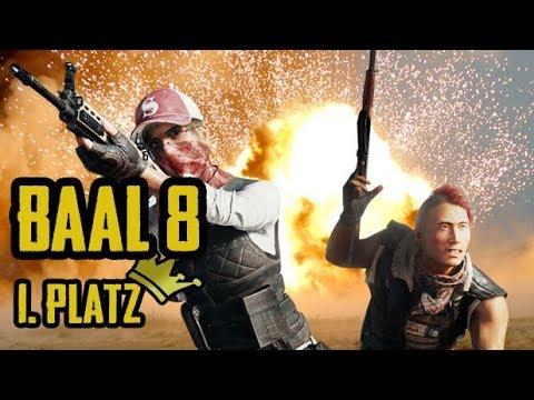 BAAL 8 Sieg! [Alle 3 Runden] -  Playerunknown's Battlegrounds PUBG