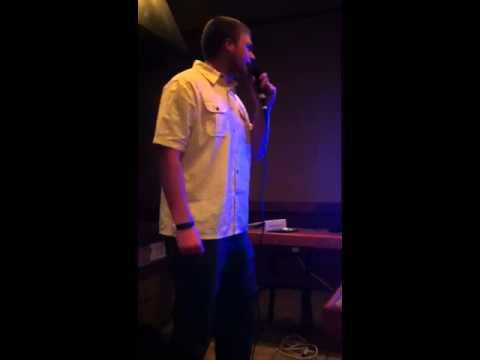 Daniel at karaoke - FSM
