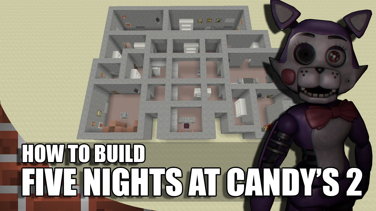 How To Build Five Nights At Candy S  In Minecraft