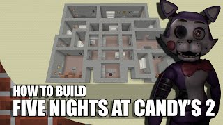 How To Build Five Nights at Candy's 2 in Minecraft!