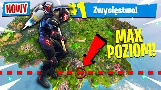 WYLECIAŁEM PONAD *MAX* POZIOM NA JETPACKU?! | Fortnite (Battle Royale)