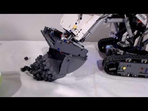 Das zweite von drei Reviews zu dem Lego Liebherr Excavator