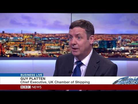 UK Chamber of Shipping CEO talks trade and seafarer training on BBC Business Live