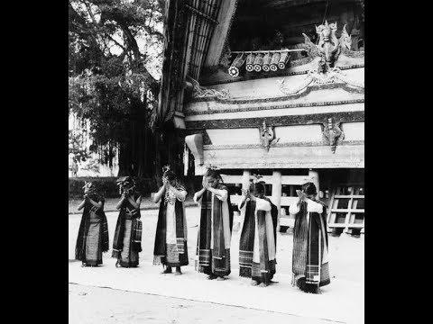 Ritual Traditional Batak People Toba Samosir Sosor Silo Op Rointan Sitanggang
