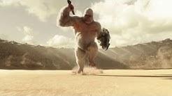 The Flash vs Solovar( Gorilla City Leader)  The Flash 2014 S03E13