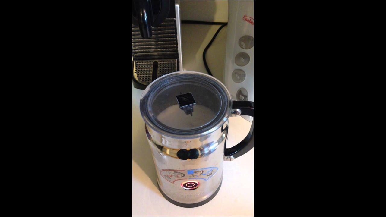 Nespresso Aerocino Malfunction - YouTube