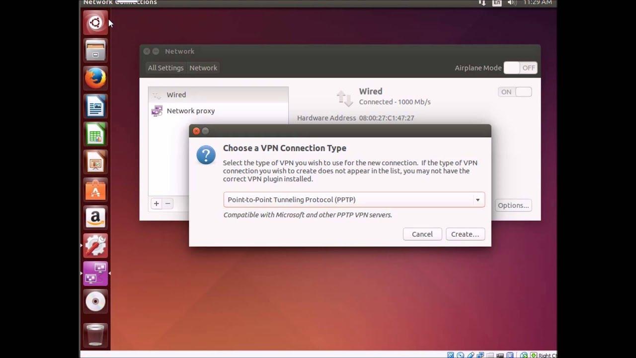 VPN Connection Using Ubuntu to Microsoft PPTP VPN Server ...