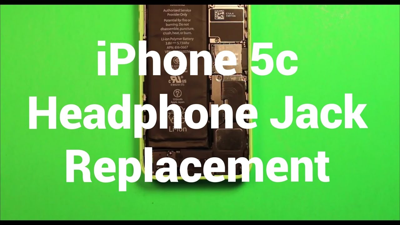 iphone 5c headphone jack iphone 5c headphone audio replacement how to change 14669