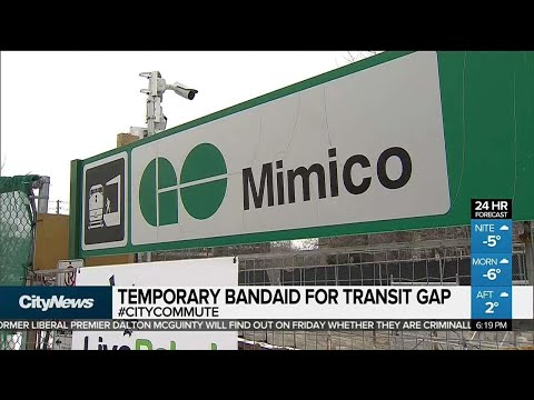 TTC plans new shuttle bus to Mimico GO station