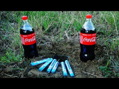 Relax Experiment fail vs success : coca cola / coke vs mentos underground Elephant Toothpaste