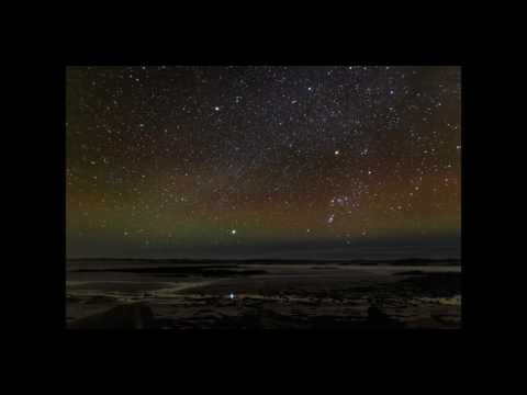 Timelapse of the amazing night sky visible in North Uist, Ou