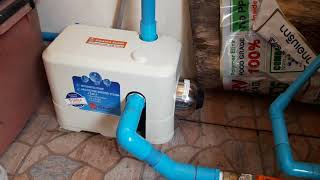 DIY ติดตั้งปั๊มน้ำ kikawa kq 400 ด้วยฝีมือของเราเองง่าย ๆ นิดเดียว