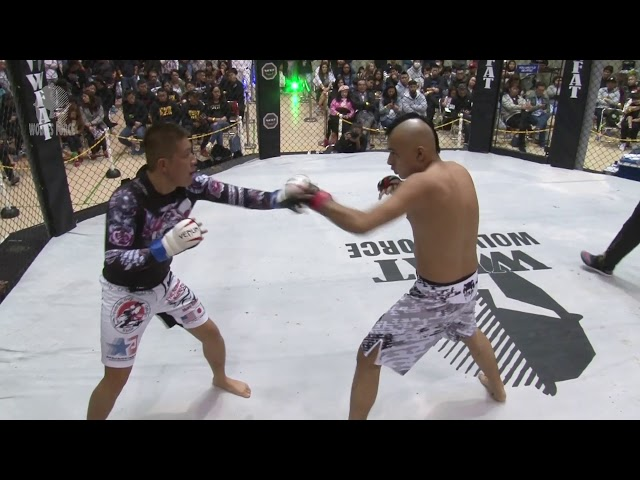 WFAT VIII   MMA   Yasuo vs Takeshita