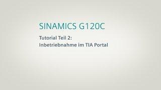 SINAMICS G120C, Tutorial Teil 2 thumbnail