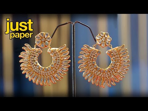 diwali decoration ideas | how to make earrings | paper earring | jewelry making | #diy | #142
