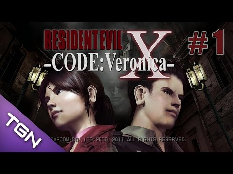 Resident Evil Code Veronica X - Gameplay Español - Capitulo 1 - 720p HD