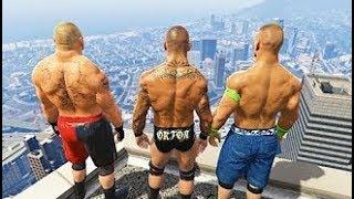 GTA 5 Randy Orton John Cena Compilation #6 (GTA 5 WWE Fails Funny Moments)