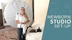 Newborn Photography Tips   Studio Set-Up for Beginners