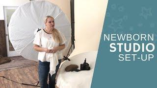 Newborn Photography Tips | Studio Set-Up for Beginners