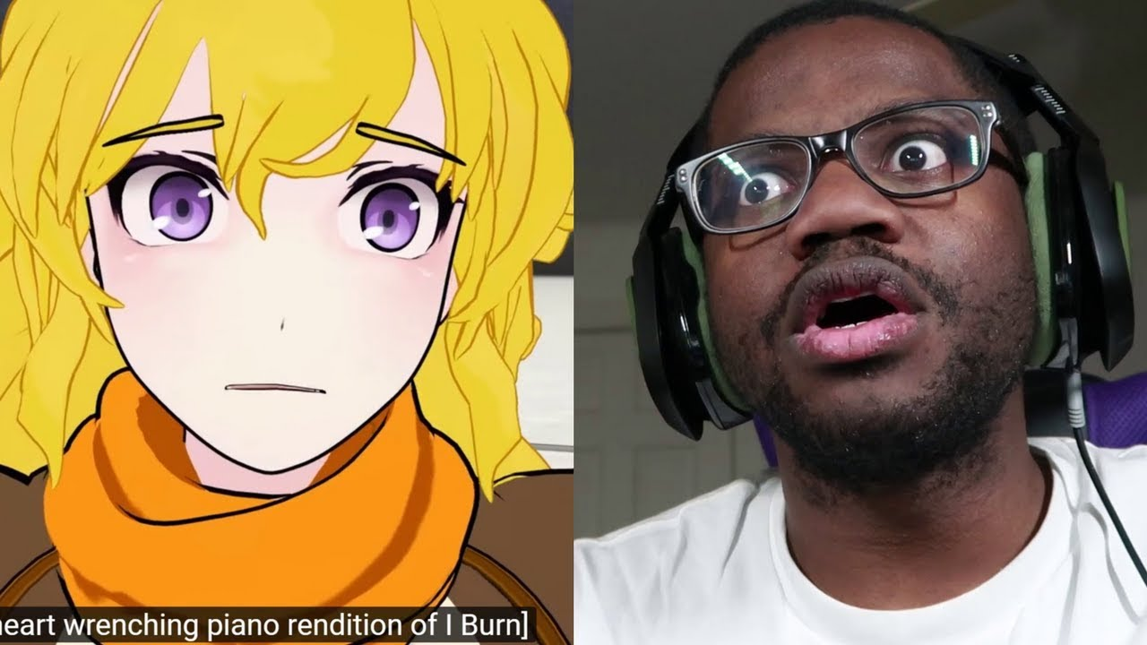 RWBY Volume 3 Chapter 6 Fall Yang vs Mercury Reactions