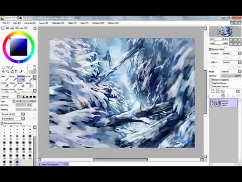 SAI Speedpaint | Midwinter