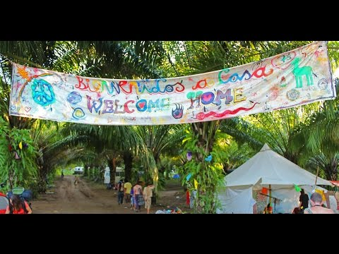 2012 GLOBAL RAINBOW GATHERING OF THE TRIBES IN PALENQUE, Chiapas Mexico :Beginning of the New Era!