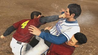 Yakuza 6: Baseball Battle - Tsuyoshi Nagumo Boss Fight