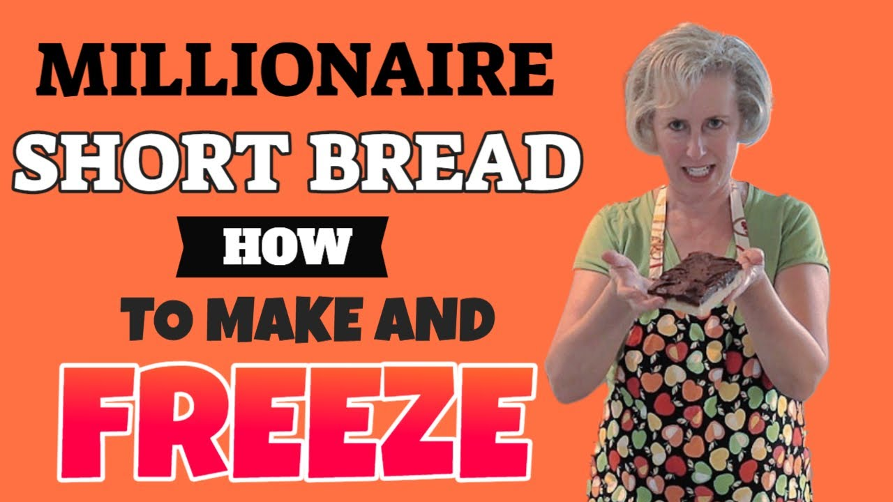 Millionaire Shortbread How To Make And Freeze Youtube