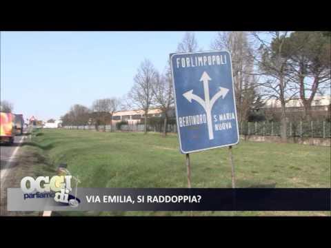 TV: Raddoppio Via Emilia, se ne parla su Teleromagna