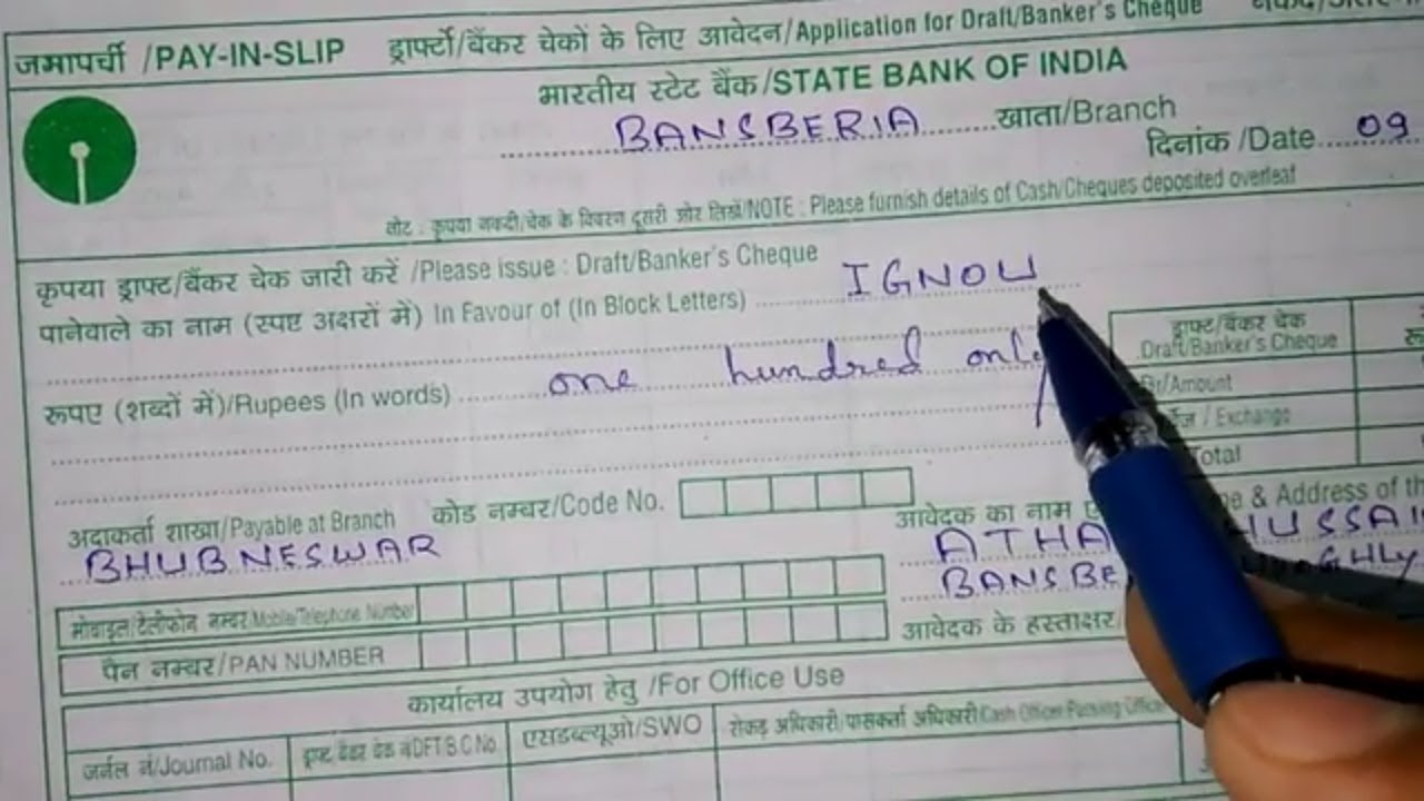 icici bank demand draft forms download